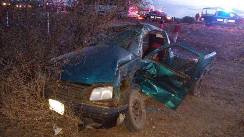 ¡Tráiler impacta camioneta en la 45 norte, seis heridos en Cosío, Aguascalientes!