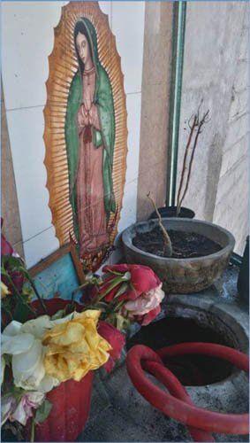¡Policía Federal asegura toma clandestina en un altar de la Virgen de Guadalupe en Puebla!