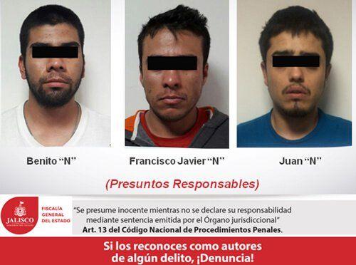 """¡Capturan a los que ejecutaron a """"El PRI"""" en Lagos de Moreno!"""