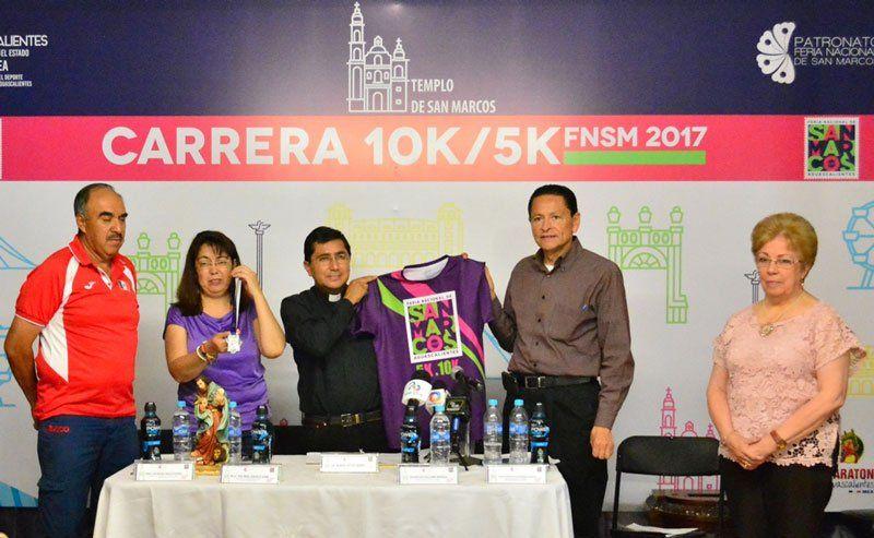 ¡Se presentó la Carrera Atlética de la Feria Nacional de San Marcos 2017!