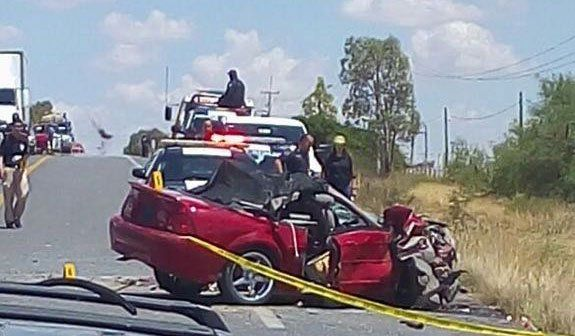 ¡Choque en la carretera Fresnillo-Río Florido deja saldo de un muerto y 7 lesionados en Zacatecas!