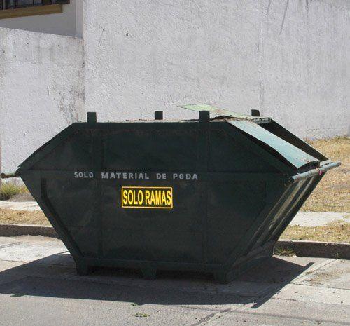 ¡Coloca el H. Ayuntamiento contenedores especiales para residuos de poda!