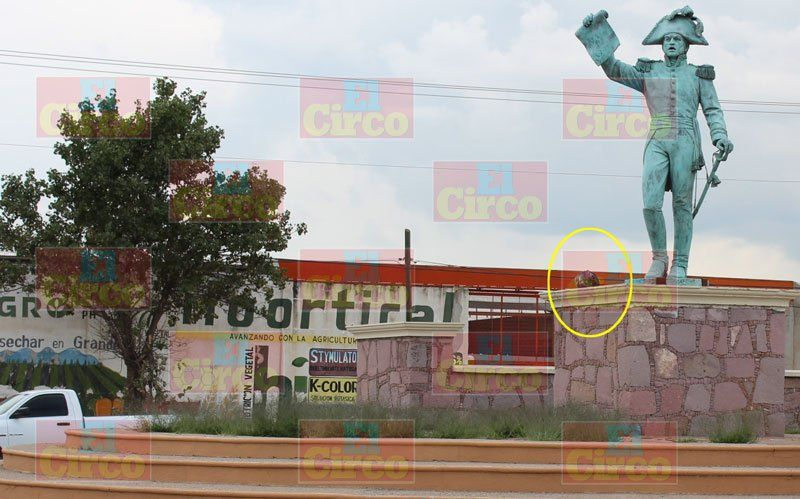 ¡Dejan cabeza humana en una Glorietaen Calera, Zacatecas!