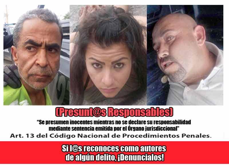 ¡Detienen a tres hombres con armade fuego y varias dosis con droga en Aguascalientes!