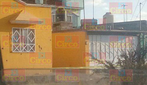 ¡Delincuentes rafaguearon un domicilio y mataron a una mujer en Calera, Zacatecas!