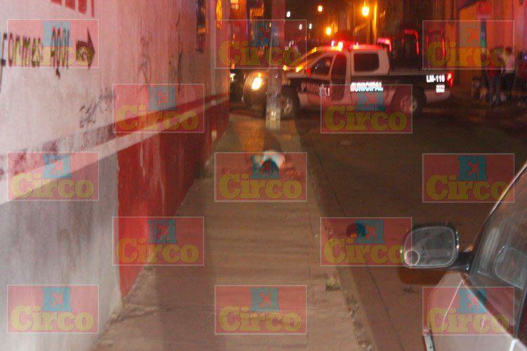 ¡Acribillaron a balazos a un desconocido en Lagos de Moreno!