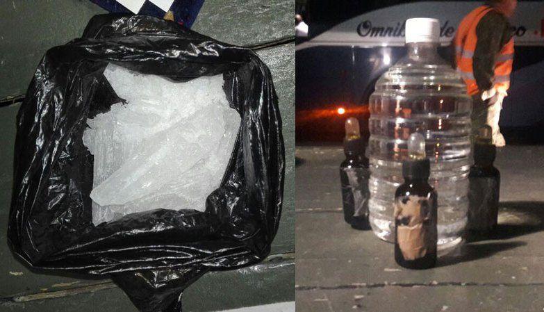 ¡Interceptan dos autobuses de pasajeros con narcóticos en Aguascalientes!