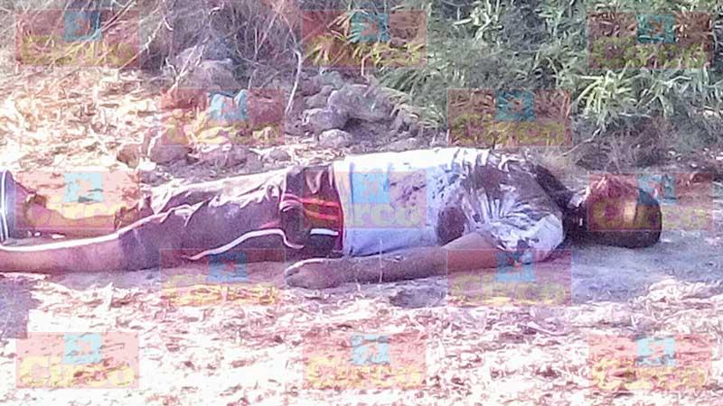 ¡Encuentran a zacatecano torturado y ejecutado en Asientos, Aguascalientes!