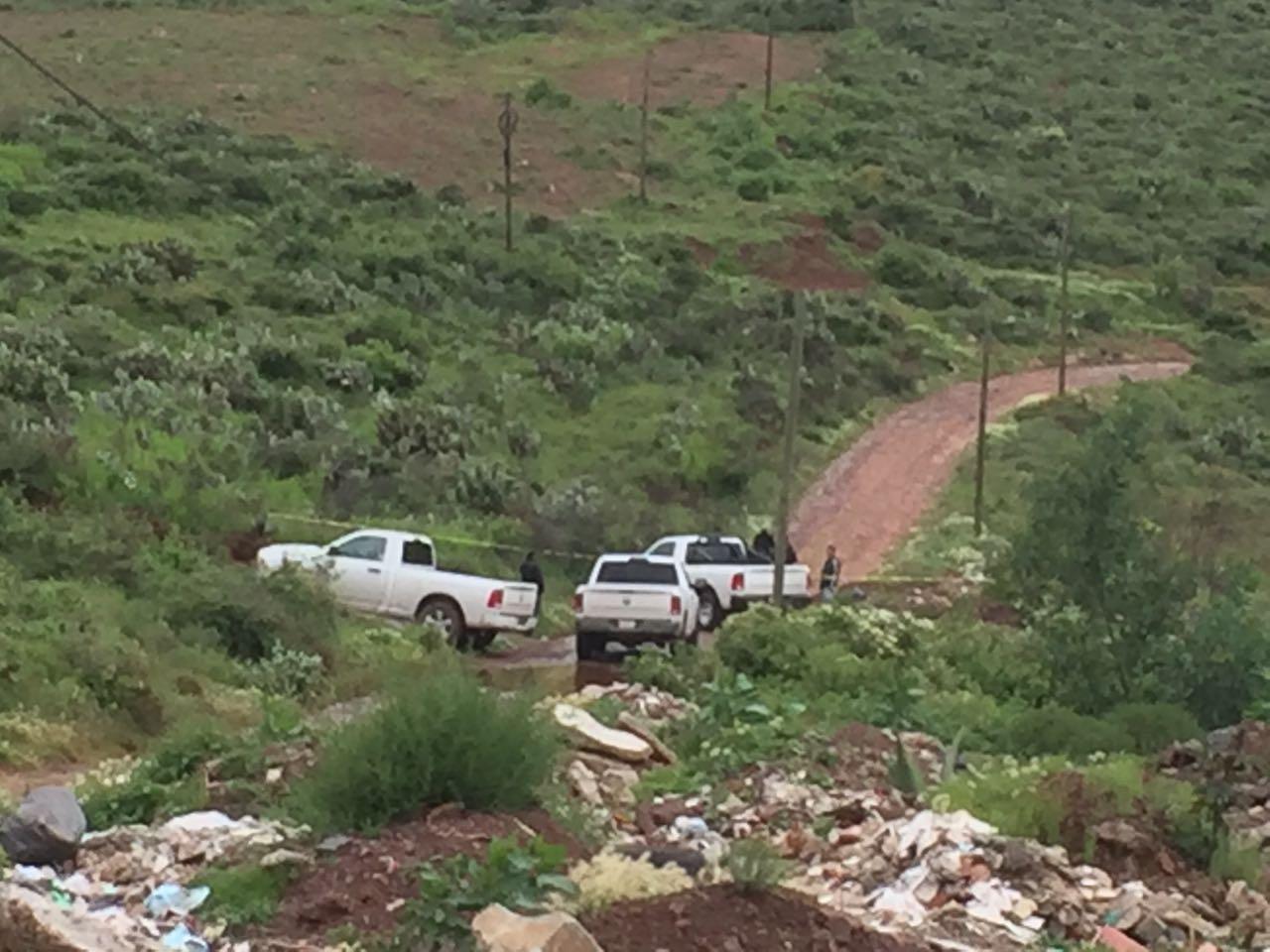 Ejecutan a balazos y embolsan a una mujer enel camino al Cerro de La Virgen, en Zacatecas
