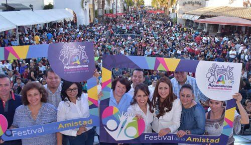 ¡Exitoso Festival de la Amistad del Municipio de Aguascalientes unió a cientos de personas!