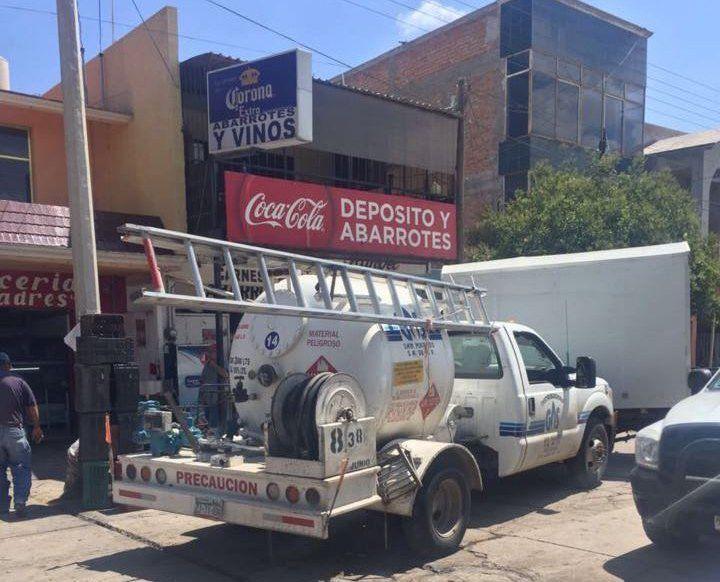 ¡Flamazo en una carnicería deja saldo de dos heridos en Aguascalientes!