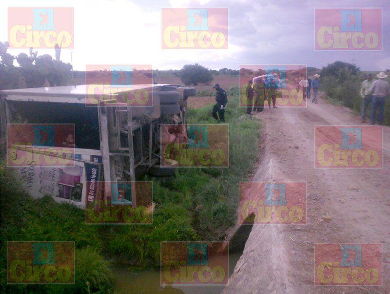 ¡Grave repartidor de Leche San Marcos baleado en un asalto en Sombrerete!