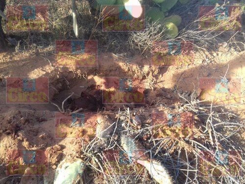 ¡Descubrieron el cuerpo de un ejecutado en una narco-fosa en Trancoso, Zacatecas!