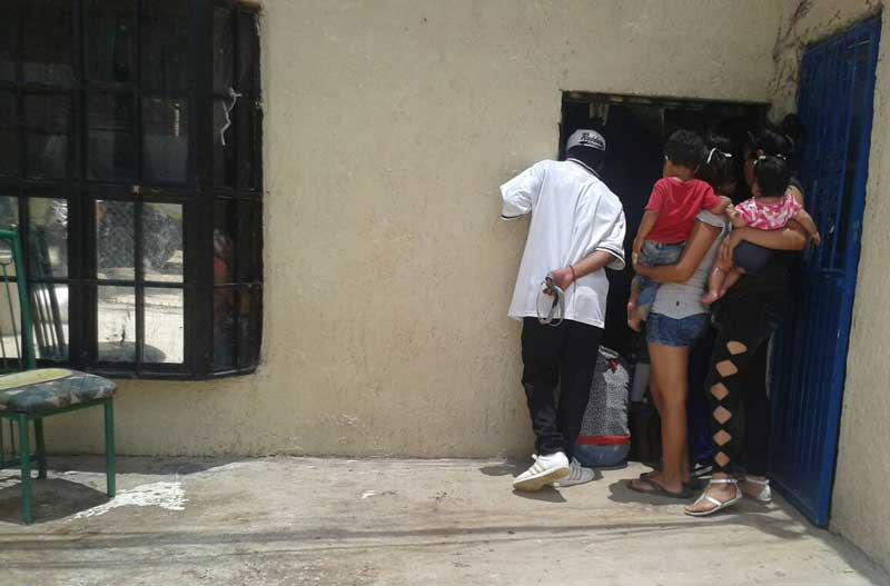 ¡Desequilibrado adolescente hirió de un hachazo a su progenitor en Aguascalientes!