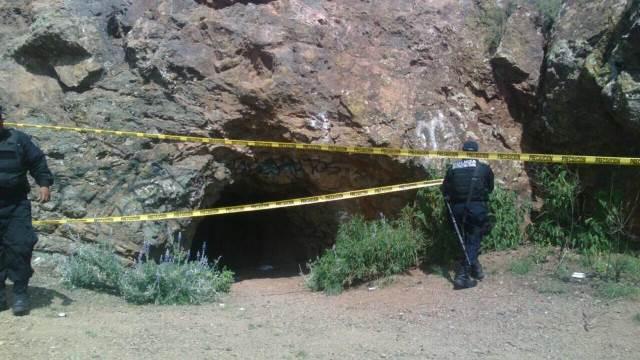 ¡Hallaron el cuerpo de una mujer en un tiro de mina en el Cerro de la Bufa!