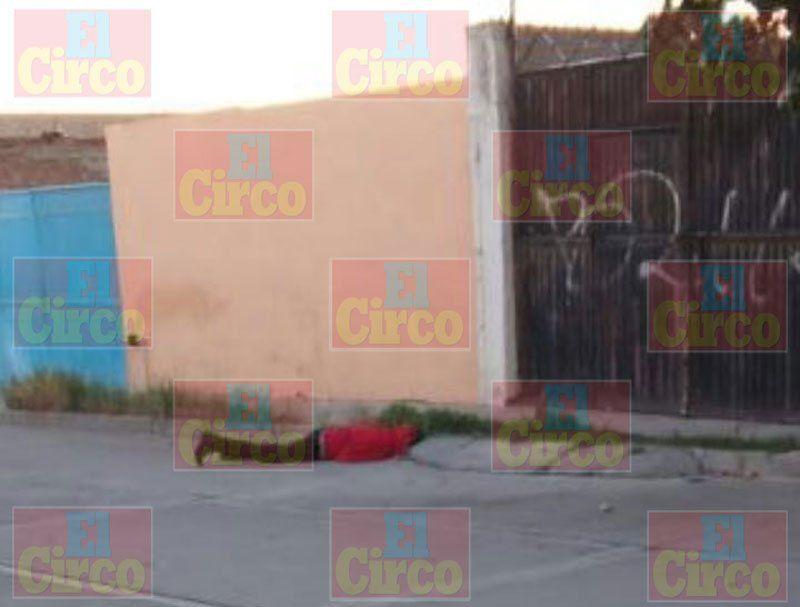 ¡Hombre desconocido fue ejecutado de un balazo en Fresnillo!