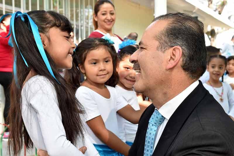 ¡Invierte Gobierno del Estado en rehabilitación de escuelas rurales!