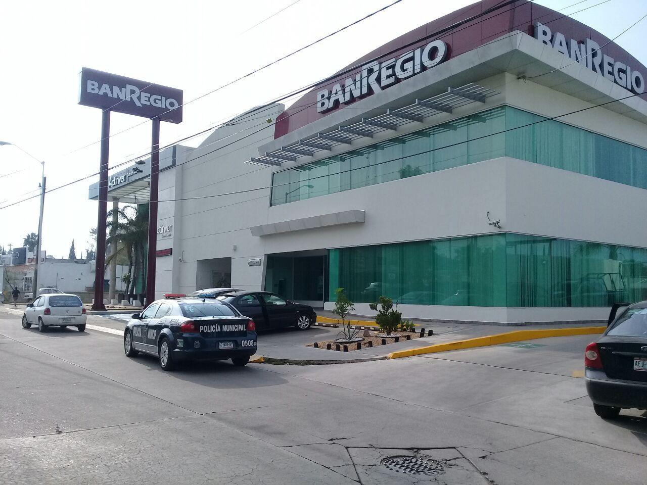 """¡""""Boquetazo"""" a la sucursal del banco BANREGIO en Aguascalientes!"""