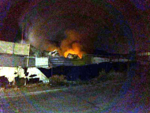 ¡Indigente muere calcinado en incendio domiciliario en Aguascalientes!