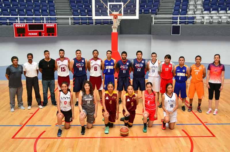¡Listos los equipos para el Juego de Estrellas en la Liga Estatal Universitaria!