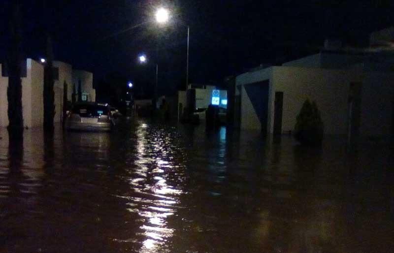 ¡Domicilios inundados y cuantiosos daños materiales deja latormenta en Jesús María!