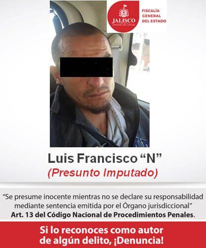 ¡Narcomenudista capturado por la Fiscalía en vinculado a proceso en Jalisco!