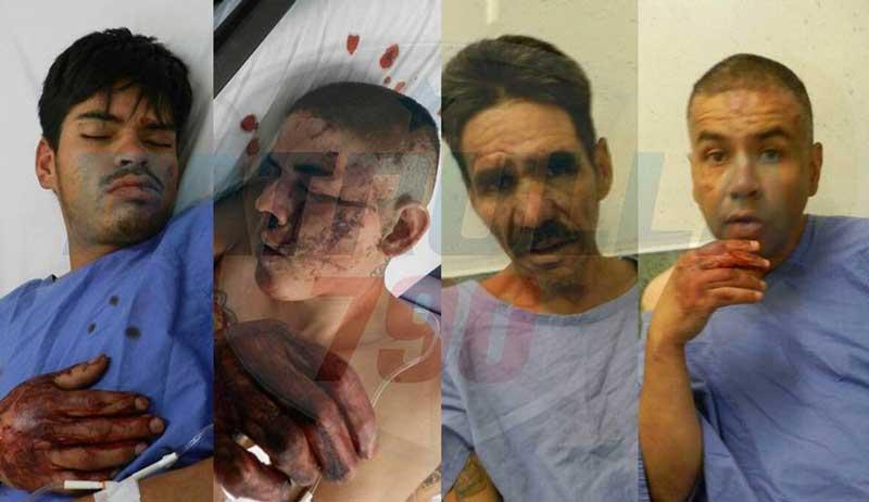 ¡Grupo de Justicieros Sociales castiga a conocidos ladrones en Aguascalientes!
