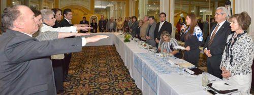 ¡Tomó protesta la alcaldesa Tere Jiménez a la nueva Mesa Directiva del Comité de Ciudades Hermanas!