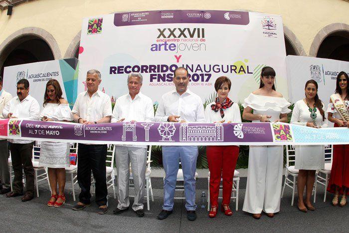 ¡El gobernador Martín Orozco encabeza Primer Recorrido Inaugural de la FNSM 2017!