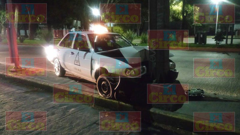 ¡Taxista muere en trágico choque en Aguascalientes!