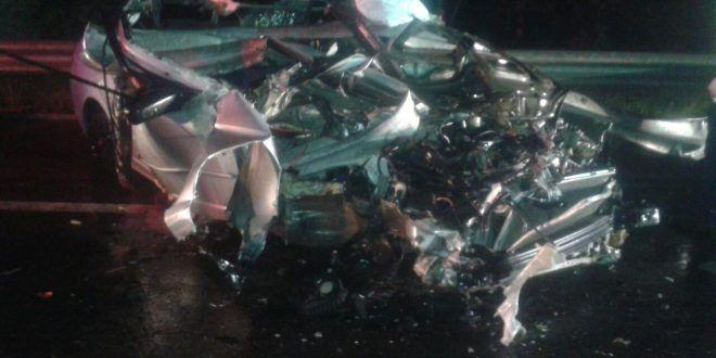 ¡Mueren dos adolescentes en carreterazo en Asientos!