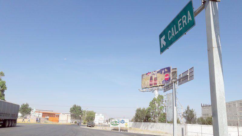 ¡Colgaron una narco-manta en la entrada a Calera, Zacatecas!