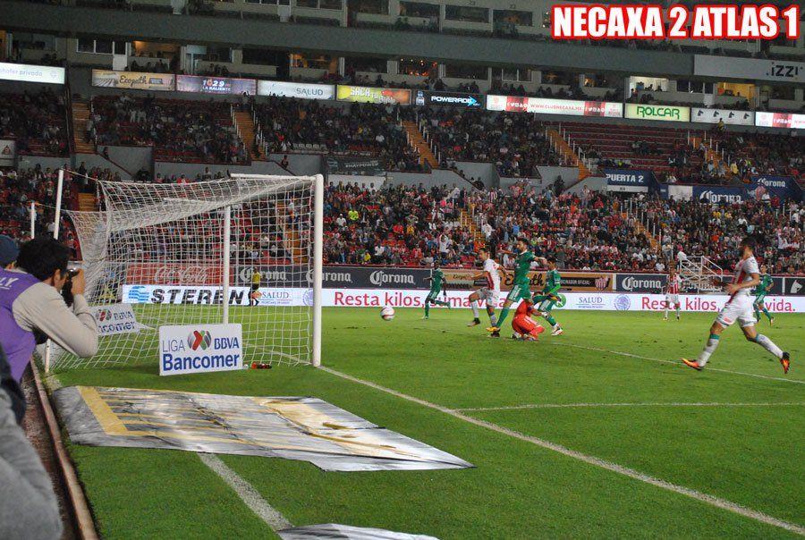 ¡Necaxa vence 2-1 al Atlas en el Estadio Victoria!