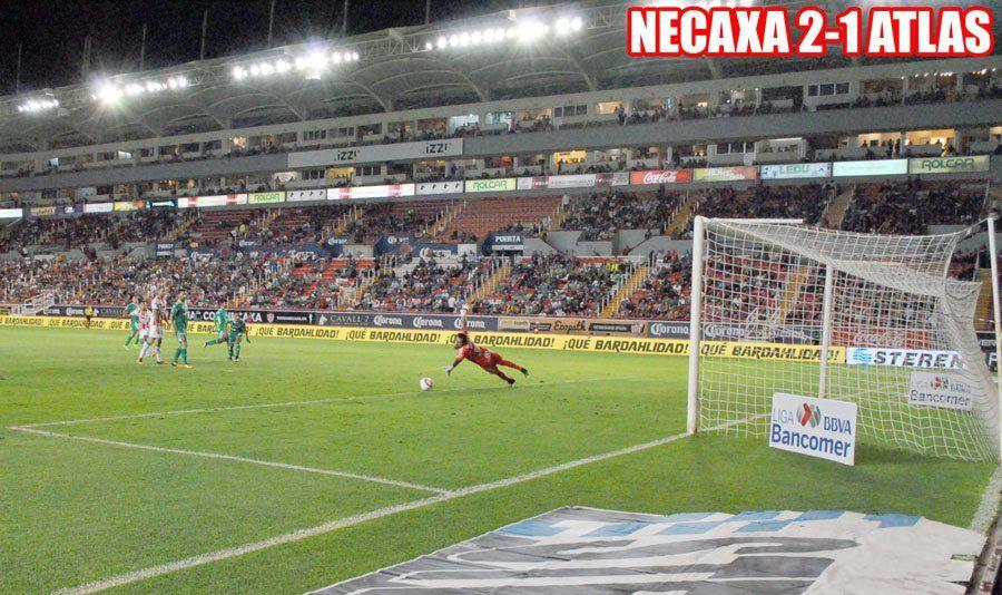 GALERIA// ¡Necaxa vence 2-1 al Atlas en el Estadio Victoria!