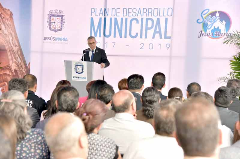 ¡Presentó Noel Mata el Plan de Desarrollo Municipal ante sectores de Jesús María!