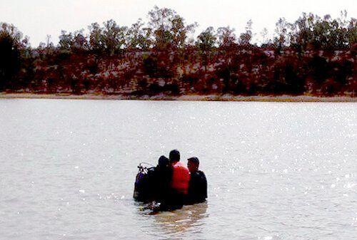 ¡Rescatan cuerpo de persona ahogada en Teocaltiche, Jalisco!