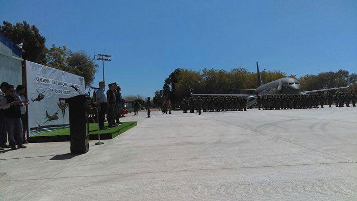 ¡900 elementos del ejército reforzarán tareas de seguridad pública en Culiacán!
