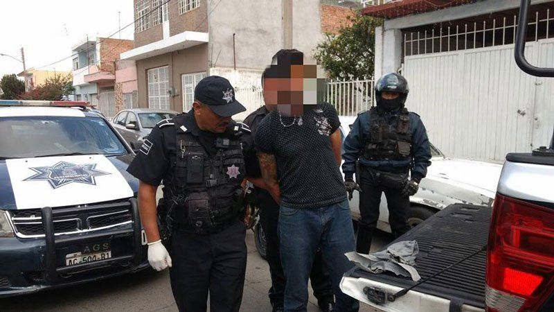 ¡Cayó reincidente delincuentetras peliculesca persecución en Aguascalientes!